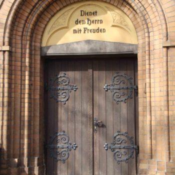 Portal Kirche Schmachtendorf