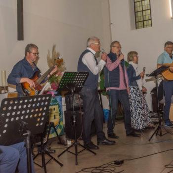 Gründungsfest 23.09.2018 - Hagenbeck-Band, Foto: Karin Gisbers