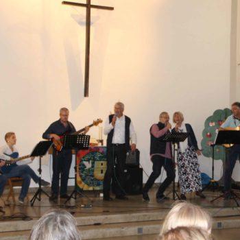 Gründungsfest 23.09.2018 - Hagenbeck-Band, Foto: Verena Altena
