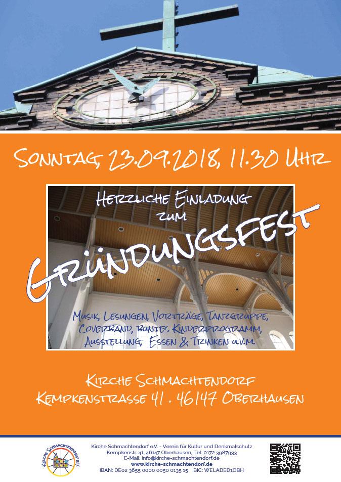 Plakat Gründungsfest